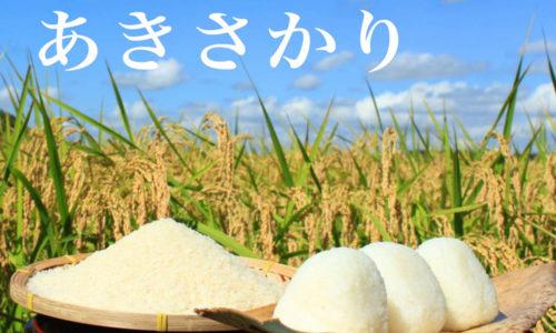 広島県産ブランド米『あきさかり』の味や特徴と口コミ評判は?買うならどこ?