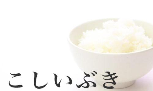 新潟県のお米『こしいぶき』の特徴と口コミ評価・評判のまとめ