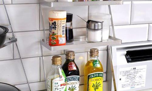 調味料を便利に収納できる「ステンレス製スパイスラック」おすすめ8選