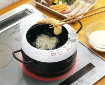 おすすめ温度計付き天ぷら鍋1