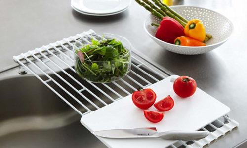 省スペースでキッチンすっきり!折りたためる水切りラックおすすめ8選