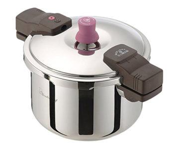 ご飯を美味しく炊ける圧力鍋3
