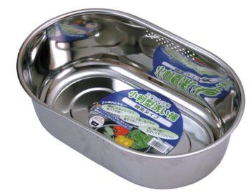 ステンレス製のおすすめ洗い桶2