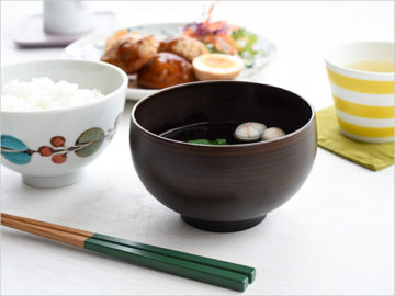 食洗機対応の汁椀・茶碗2